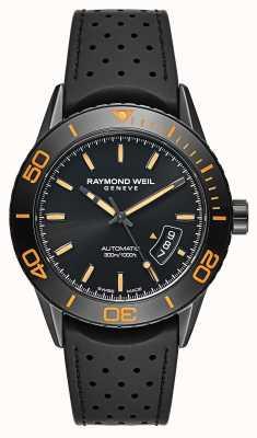 Raymond Weil Mens PVD nero automatico in acciaio placcato 2760-SB2-20001