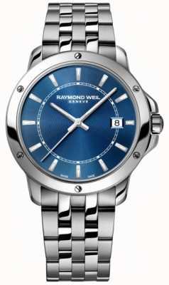 Raymond Weil Quadrante indice in acciaio inossidabile tango Mens 5591-ST-50001