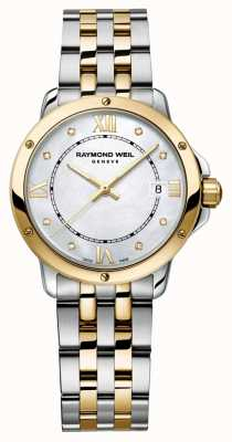 Raymond Weil Womans tango a due punti diamante punto madreperla 5391-STP-00995