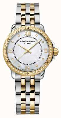 Raymond Weil Womans tango a due punti diamante punto madreperla 5391-SPS-00995
