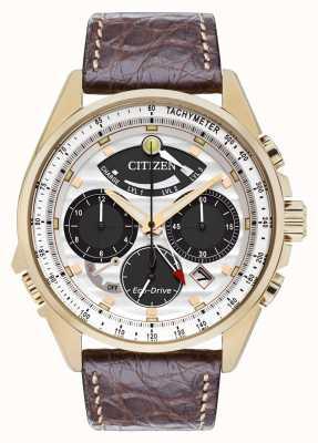 Citizen Mens calibro 2100 in edizione limitata del cronografo allarme AV0068-08A