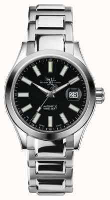 Ball Watch Company Quadrante nero in acciaio inox automatico ii NM2026C-S6-BK