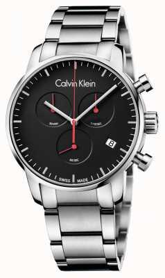 Calvin Klein crono vigilanza città lucido uomo K2G27141