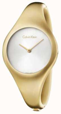 Calvin Klein Donne nude PVD oro piccolo K7G1S516