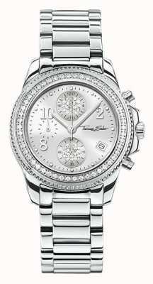 Thomas Sabo Ladies glam chrono acciaio inossidabile WA0240-201-201-33