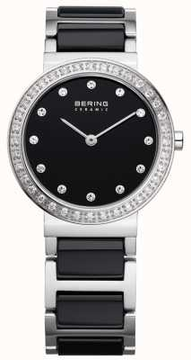 Bering ceramica nera acciaio / stainlss 10729-702