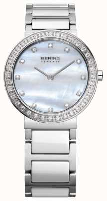 Bering Le donne d'argento in acciaio inox 10729-704