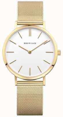 Bering Delle donne orologio d'oro classico milanese 14134-331