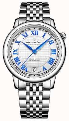 Dreyfuss Donne in acciaio inox 1925 orologio DLB00148/01