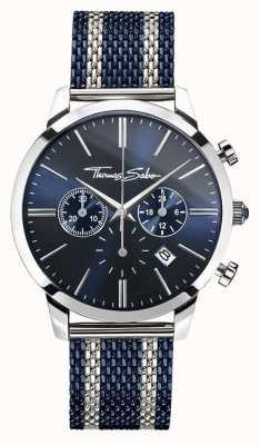 Thomas Sabo Mens spirito ribelle cronografo marina WA0285-281-209-42