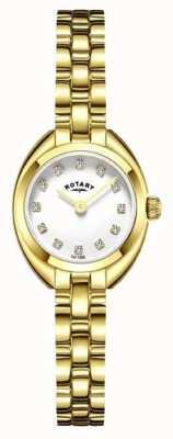 Rotary Bracciale da donna con cinturino placcato in oro LB05015/11