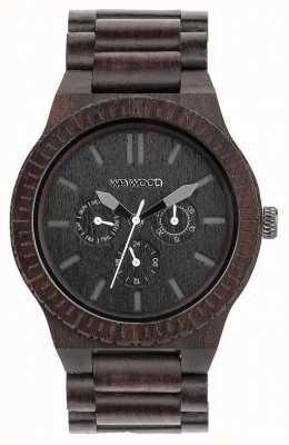 WeWood Cinturino nero in legno kappa nero uomo 70315300