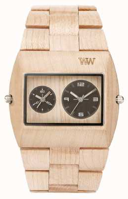 WeWood cinturino in legno RS Mens jupiter beige 70331200