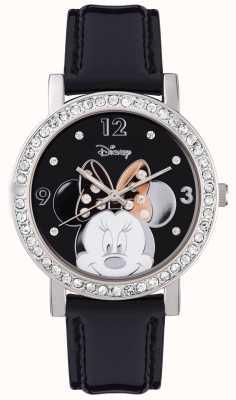 Disney Adult Cassa in argento in acciaio inox Minnie MN1149