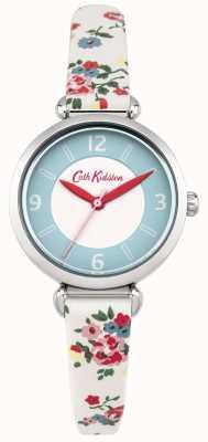 Cath Kidston Donne Kew rametto orologio in pelle color crema floreale CKL020CS
