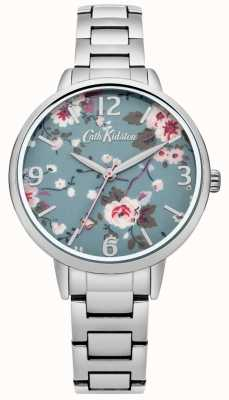 Cath Kidston Cath kidston trailing rosa orologio da polso in argento CKL001SM