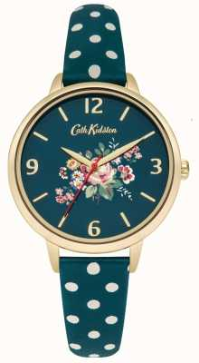 Cath Kidston Donne Briar Rose Polka cinghia punto verde CKL004NG