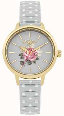 Cath Kidston Orologio da donna a pois grigio richmond CKL009EG