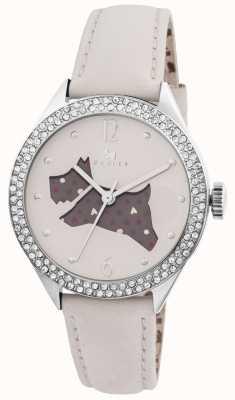 Radley Il grande orologio cinturino in vera pelle crema all'aperto RY2205