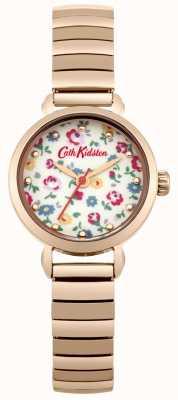 Cath Kidston Rosa espansore oro con foto stampata quadrante CKL016RGM