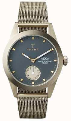 Triwa Womans oro maglia cenere Aska AKST103-MS121717