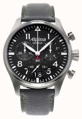 Alpina Cronografo da uomo startimer pilot al quarzo AL-372B4S6