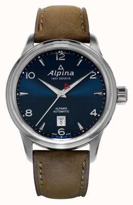 Alpina Mens Alpiner blu automatico AL-525N4E6