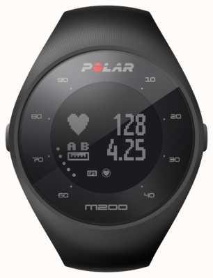 Polar Unisex GPS M200 nero polso hr m / l 90061201