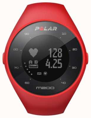 Polar Unisex rosso m200 gps m / l polso h 90061217