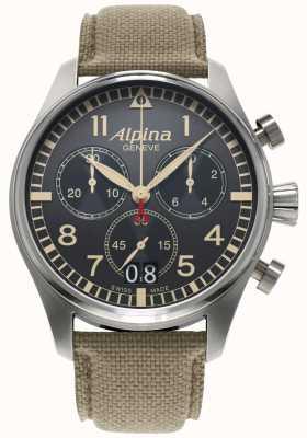 Alpina Pilota Startimer AL-372BGR4S6