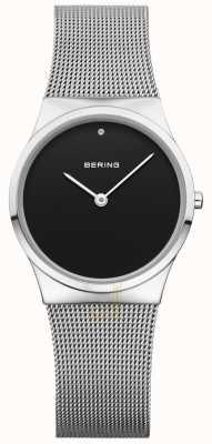 Bering Quadrante nero nero mesh Womans 12130-002