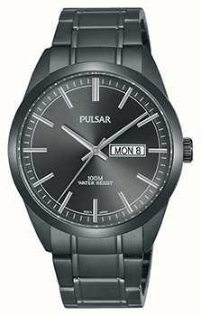 Pulsar Gents grigio orologio in acciaio inox PJ6075X1
