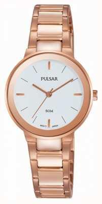 Pulsar Signore rosa orologio placcato oro PH8290X1