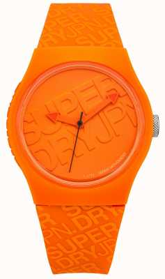 Superdry Silicone arancione urbano unisex SYG169O