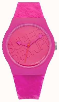 Superdry Womans urbano in silicone rosa SYL169P