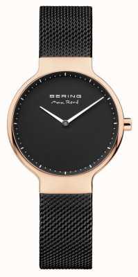 Bering Cinturino maglia intercambiabile nera 15531-262