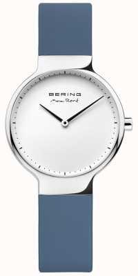 Bering Cinturino in gomma blu intercambiabile di rené max 15531-700