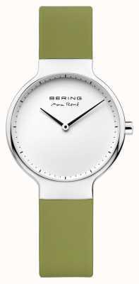 Bering Cinturino in gomma verde intercambiabile rené max 15531-800