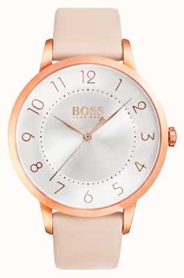 Hugo Boss Orologio da donna eclipse in pelle rosa 1502407