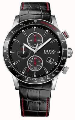 Boss Orologio da polso cronografo nero di Gents Rafale 1513390