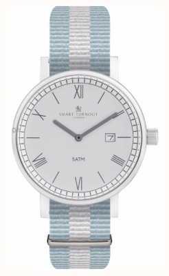 Smart Turnout orologio County - argento con cinturino ell STK1/SV/56/W