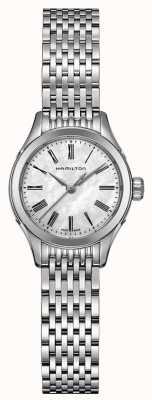 Hamilton Womans American Classic tono argento quarzo valente H39251194