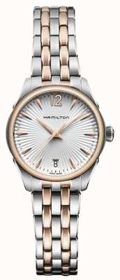 Hamilton Womans Jazzmaster quarzo due toni H42221155