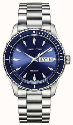 Hamilton Mens Jazzmaster Seaview data di giorno blu H37551141
