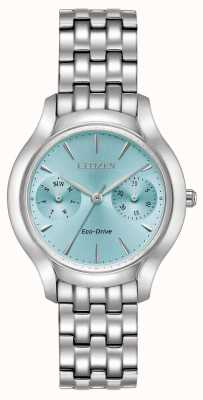 Citizen silhouette Womans Eco-Drive Chandler blu FD4010-57L