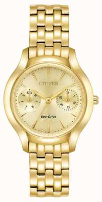 Citizen silhouette Womans Eco-Drive Chandler oro FD4012-51P