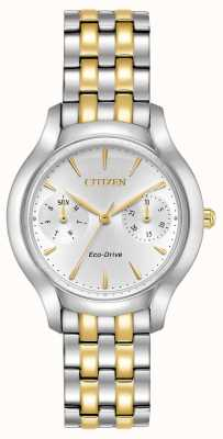 Citizen silhouette Womans Eco-Drive Chandler due toni FD4014-56A