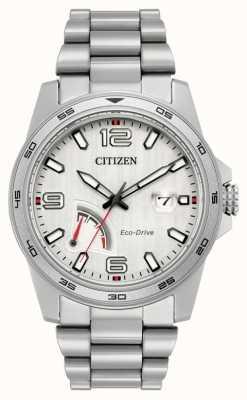Citizen acciaio riserva di carica Eco-Drive Mens AW7031-54A