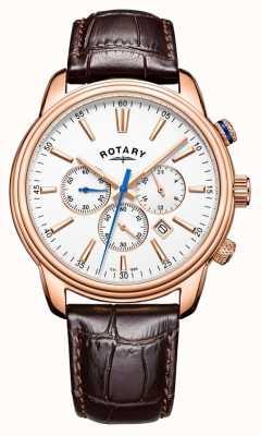 Rotary Cuoio cronografo sportivo monaco GS05084/06