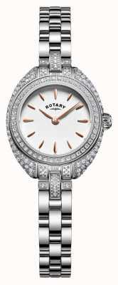Rotary Womans petite set pietra d'argento braccialetto LB05087/02